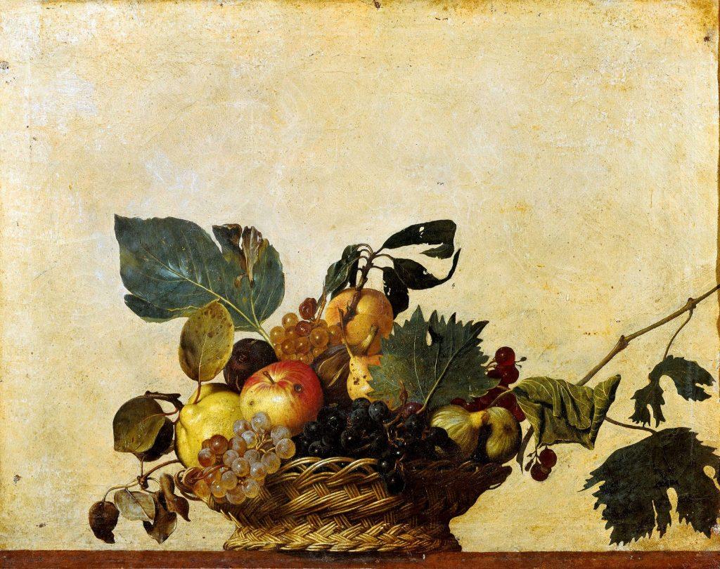 Caravaggio-Canestra-di-frutta-1599
